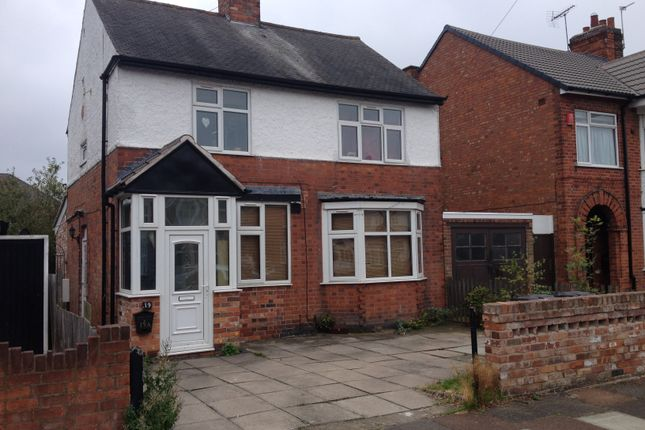 Thumbnail Flat to rent in Barbara Road, Leicester