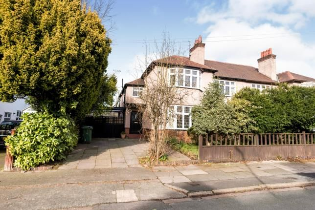 Semi-detached house for sale in Menlove Gardens West, Liverpool, Merseyside