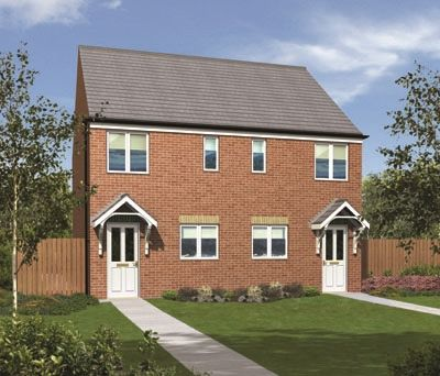 "Semi-detached house for sale in ""The Moulton"" at The Middles, Stanley"