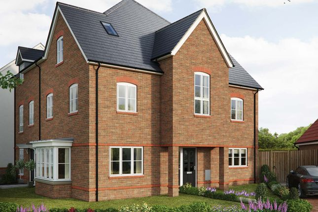 "Thumbnail Semi-detached house for sale in ""The Hedingham"" at Saunders Way, Basingstoke"