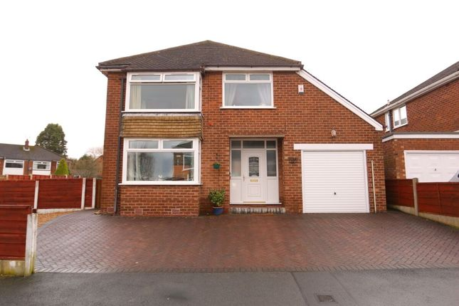 Thumbnail Detached house for sale in Dene Brow, Denton, Manchester
