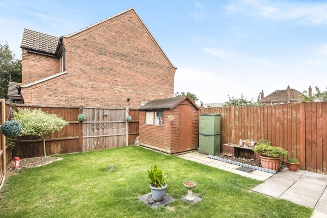 Rear Garden of Kings Manor, Coningsby, Lincoln Lincs LN4