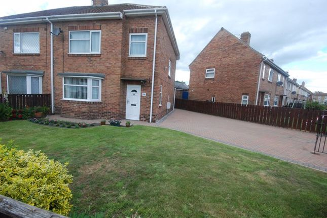 3 bed semi-detached house for sale in Mitford Drive, Ashington NE63