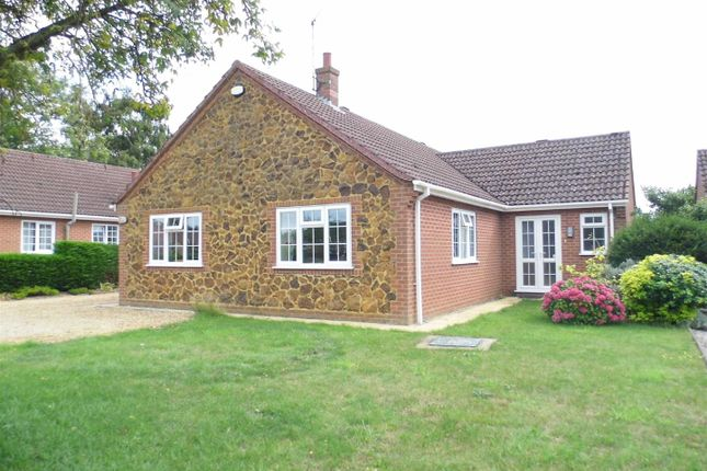 Thumbnail Detached bungalow for sale in School Road, Middleton, King's Lynn