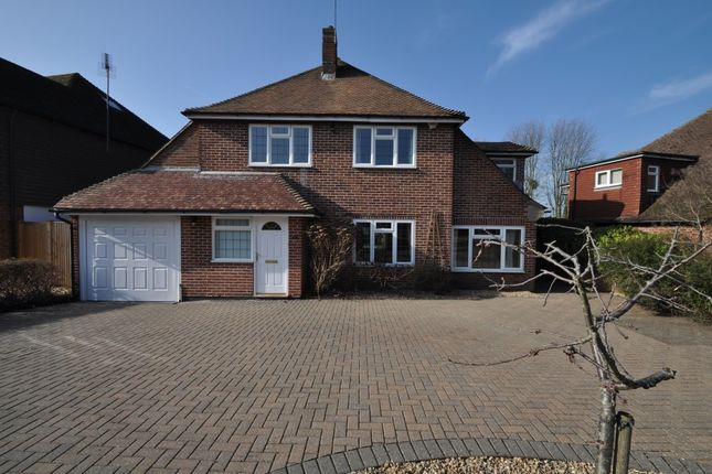 Thumbnail Detached house to rent in Marlyns Drive, Burpham, Guildford