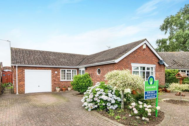 Thumbnail Bungalow for sale in Malham Close, Lincoln