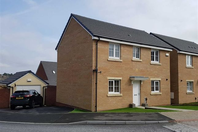 Thumbnail Detached house for sale in White Farm, Hedgerows, Barry
