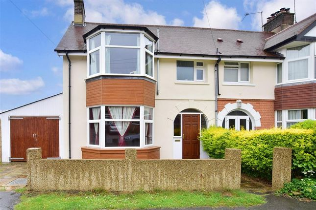 Thumbnail End terrace house for sale in Windsor Road, Crowborough, East Sussex