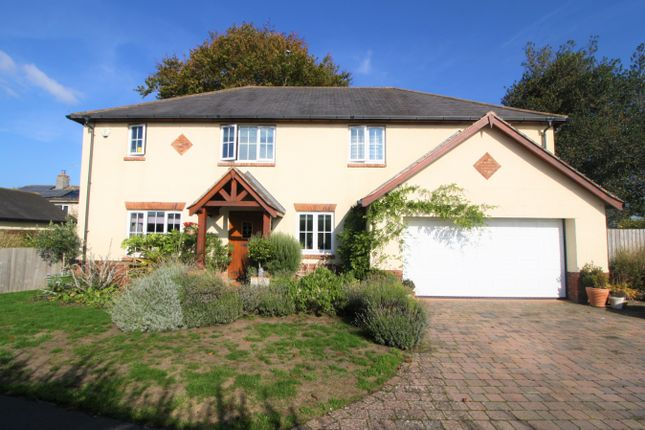 Thumbnail Detached house for sale in Lovelace Gardens, Exeter