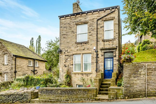 Thumbnail Detached house for sale in New Road, Luddendenfoot, Halifax