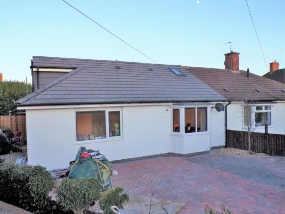 Thumbnail Bungalow for sale in The Oval, Stoney Stanton, Leicestershire