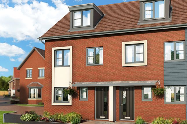 """Thumbnail Property for sale in """"The Caraway At Meadow View, Shirebrook"""" at Redbridge Close, Shirebrook, Mansfield"""