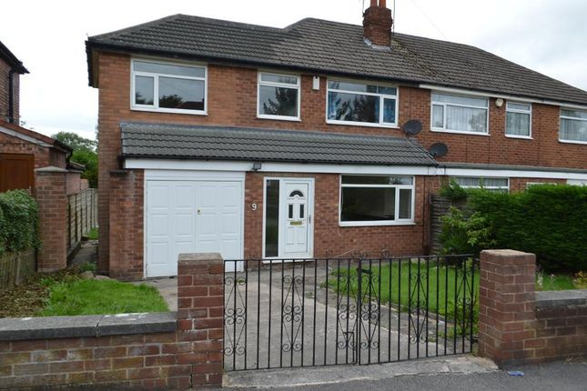 Thumbnail Semi-detached house to rent in Granville Road, Cheadle Hulme, Stockport