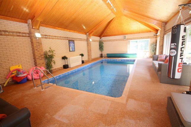 Brick Built Pool Room
