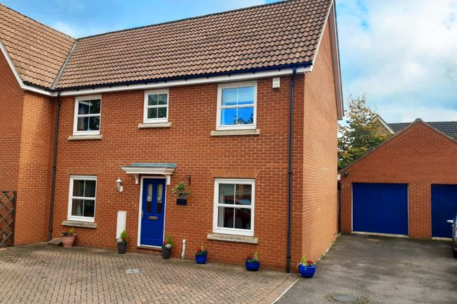 Thumbnail Semi-detached house for sale in Northern Rose Close, Bury St. Edmunds