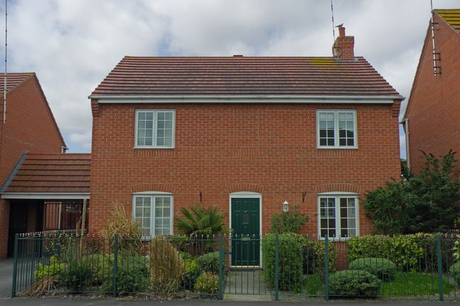 Thumbnail Detached house to rent in Glover Road, Castle Donington, Derby
