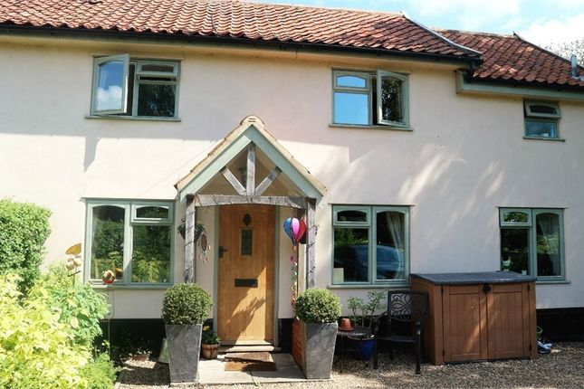 Thumbnail Semi-detached house for sale in Cross Street, Hoxne, Eye, Suffolk