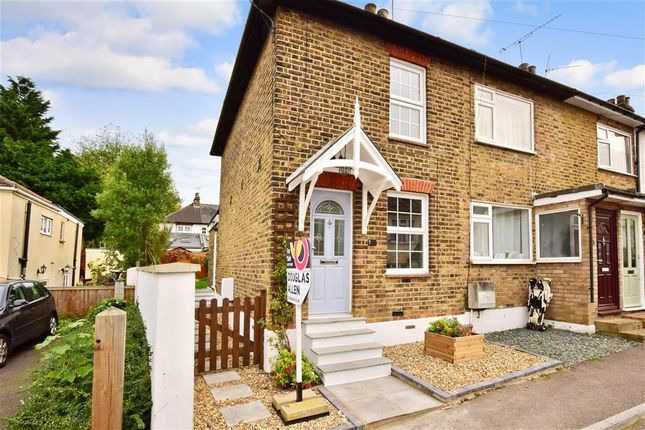 Thumbnail End terrace house for sale in St. Peters Road, Warley, Brentwood, Essex