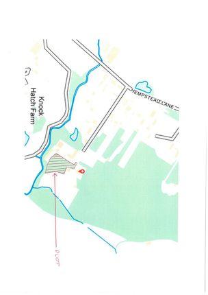 Site Plan of Hempstead Lane, Hailsham BN27
