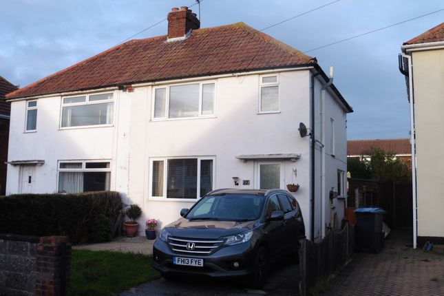 Thumbnail Semi-detached house for sale in St Martins Rd, Deal