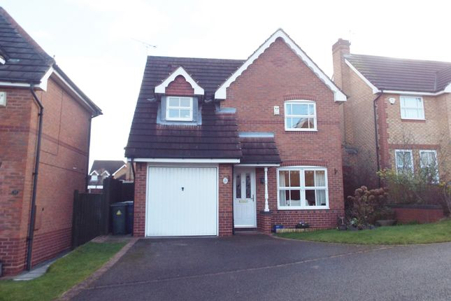 Thumbnail Detached house for sale in Redwing Close, Gateford, Worksop