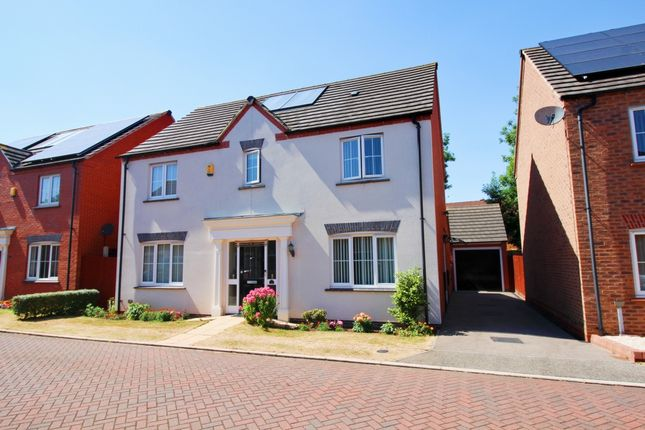 Thumbnail Detached house for sale in Albermarle Close, Humberstone