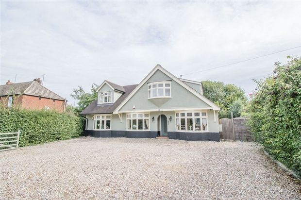 Thumbnail Detached house for sale in Braintree Road, Gosfield, Halstead
