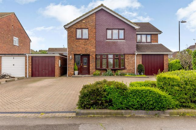 Thumbnail Detached house for sale in Rectory Road, Pitsea, Basildon
