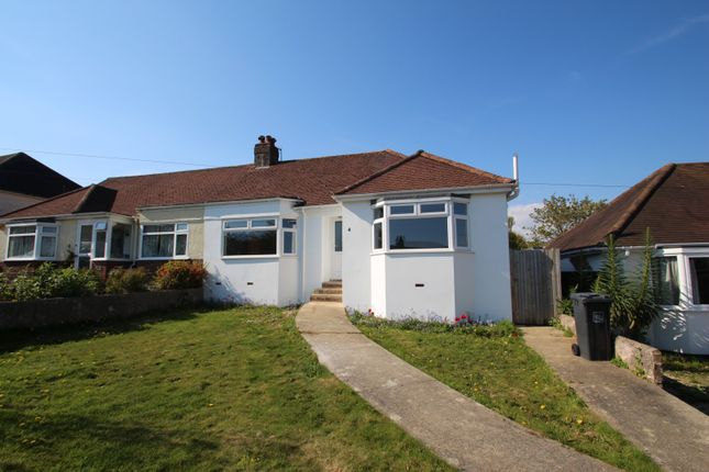 Thumbnail Bungalow to rent in Vale Drive, Findon Valley, Worthing