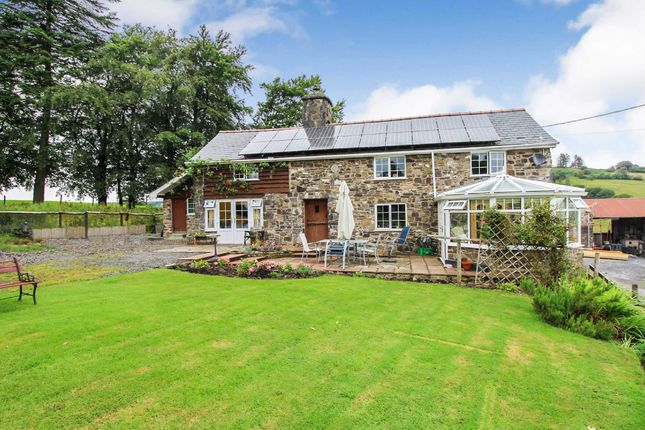 Thumbnail Detached house for sale in Cefn Coch, Welshpool, Powys