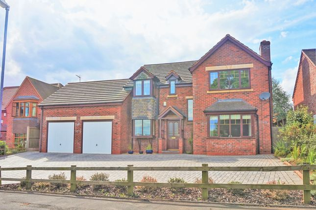 Thumbnail Detached house for sale in Old Croft Road, Stafford