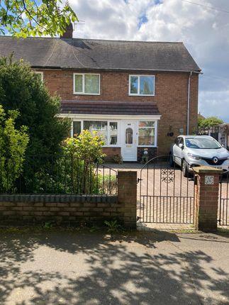 3 bed semi-detached house for sale in Ravenscar Crescent, Wythenshawe, Manchester M22
