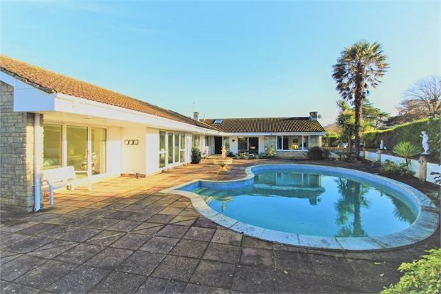 Thumbnail Detached bungalow for sale in Bristol Road Lower, Weston-Super-Mare, North Somerset.