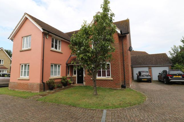 Thumbnail Detached house for sale in Rosecroft, South Wootton, King's Lynn