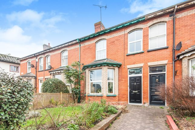 Thumbnail Terraced house for sale in Highland Terrace, Tiverton