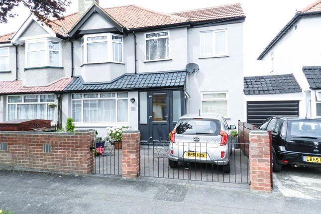 Thumbnail Semi-detached house to rent in Poulton Avenue, Sutton