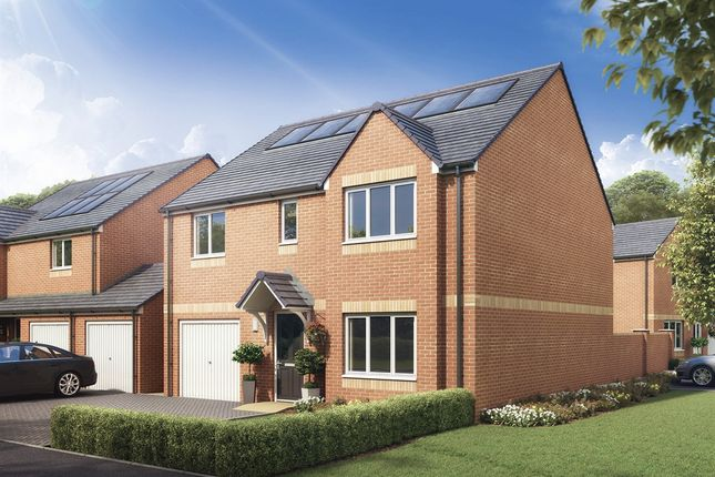 "Thumbnail Detached house for sale in ""The Whithorn "" at Kirk Lane, Livingston Village, Livingston"