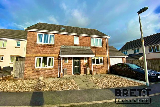 Thumbnail Detached house for sale in Myrtle Meadows, Steynton, Milford Haven, Pembrokeshire.