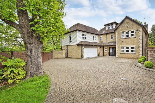 Thumbnail Detached house for sale in St James Parish, Goffs Oak, Herts