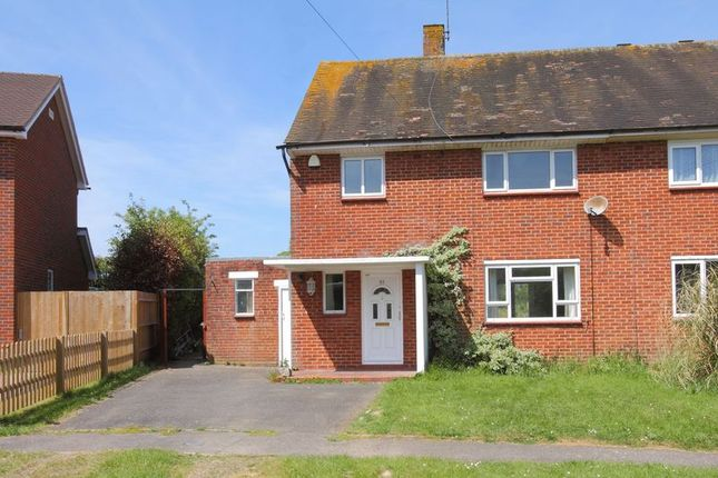 Thumbnail Semi-detached house for sale in Roberts Road, Barton Stacey, Winchester
