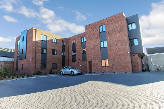 Thumbnail Flat to rent in Roman House, Garrett Street, Attleborough