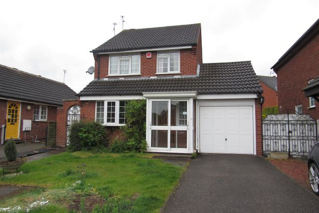 Thumbnail Detached house for sale in Freer Close, Blaby, Leicester
