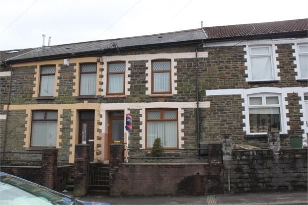 Thumbnail Terraced house for sale in North Road, Ferndale, Rhondda Cynon Taff.