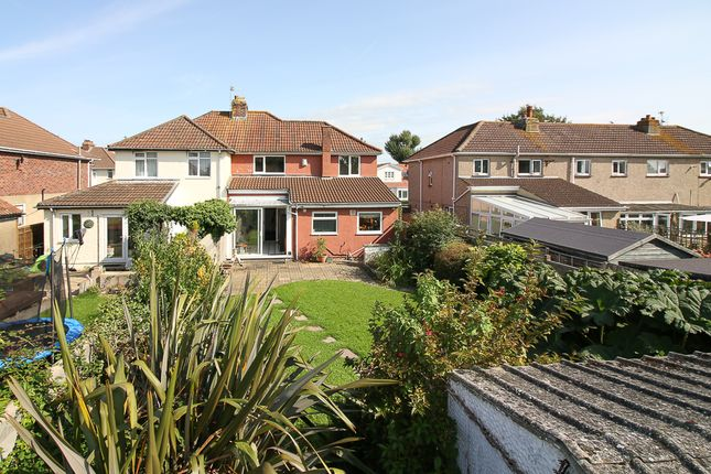 Rear Garden of Halswell Road, Clevedon BS21