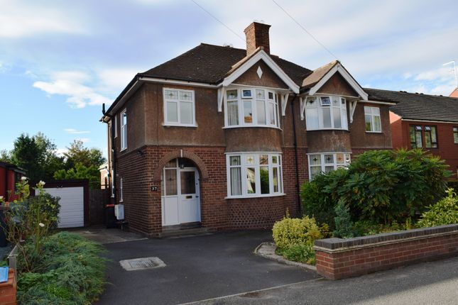 Thumbnail Semi-detached house for sale in Wrockwardine Road, Wellington, Telford