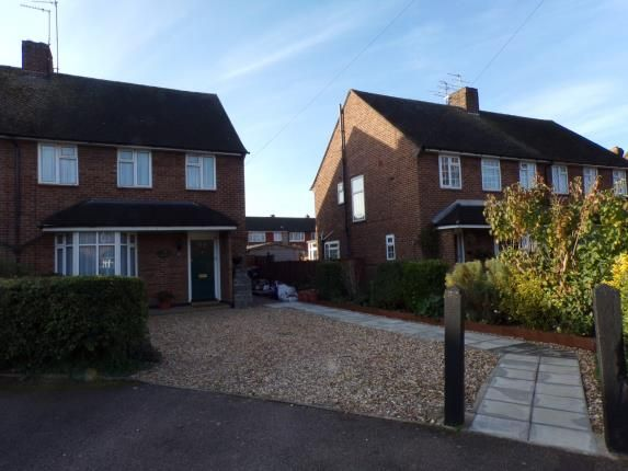 Thumbnail Semi-detached house for sale in Harpenden Close, Bedford, Bedfordshire