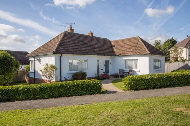 3 bed detached bungalow for sale in Wimborne Crescent, Sully, Penarth CF64