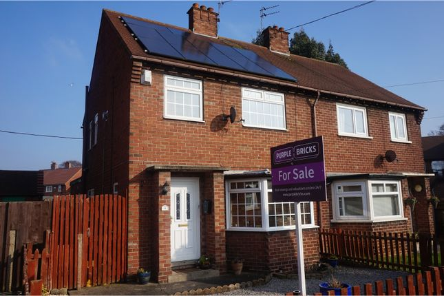 Thumbnail Semi-detached house for sale in The Close, Cottingham