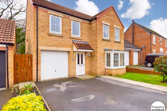 Thumbnail Detached house for sale in Maddison Grove, Normanby, Middlesbrough