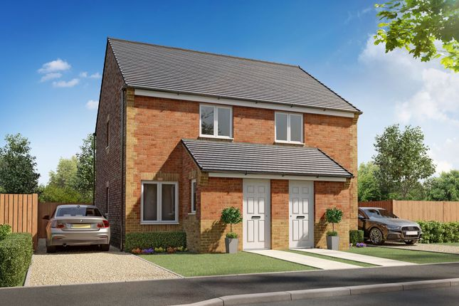 "2 bed semi-detached house for sale in ""Kerry"" at Roman Way, Scunthorpe DN17"